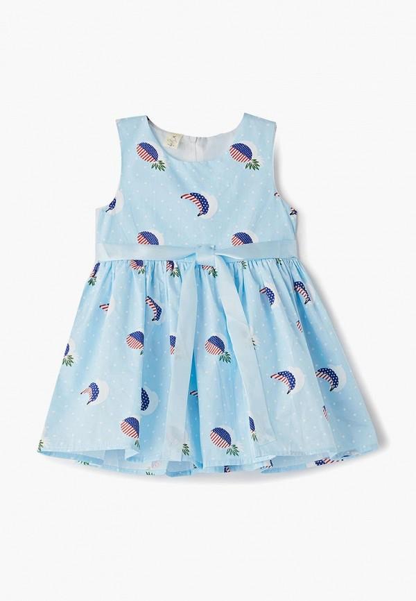 сарафан elaria для девочки, голубой