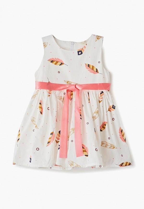 платье elaria для девочки, бежевое