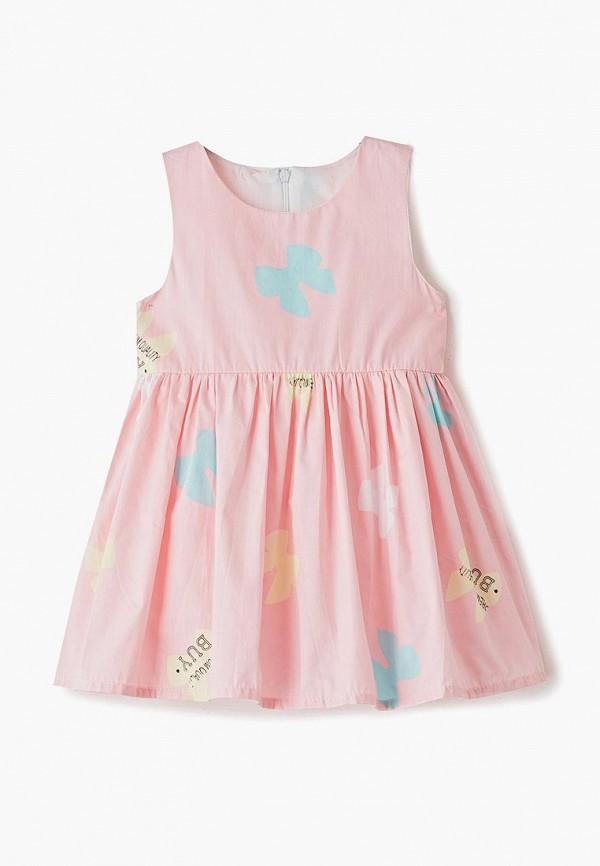 платье elaria для девочки, розовое