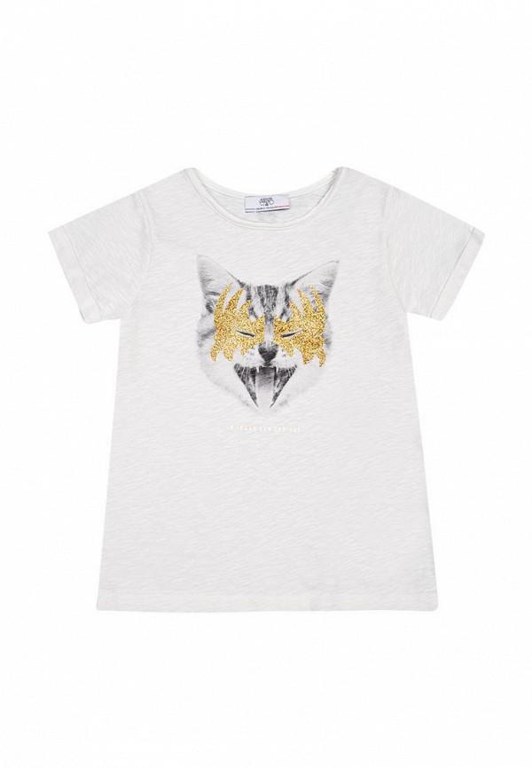 футболка le temps des cerises для девочки, белая