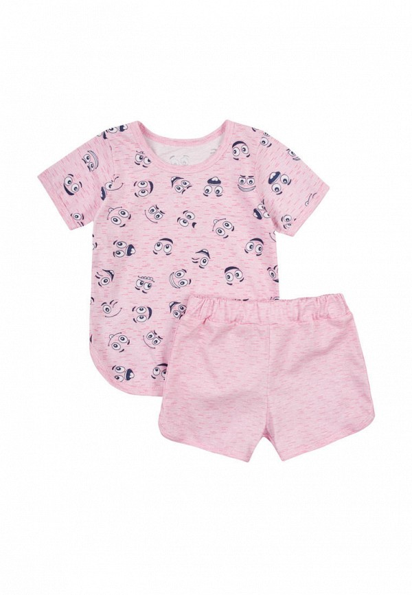 пижама вітуся для девочки, розовая