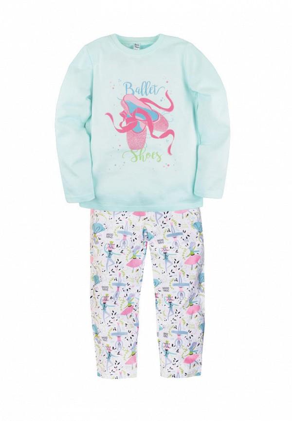пижама bossa nova для девочки, разноцветная