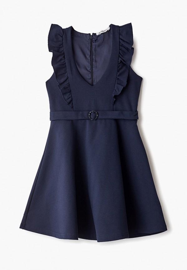 платье zarina для девочки, синее