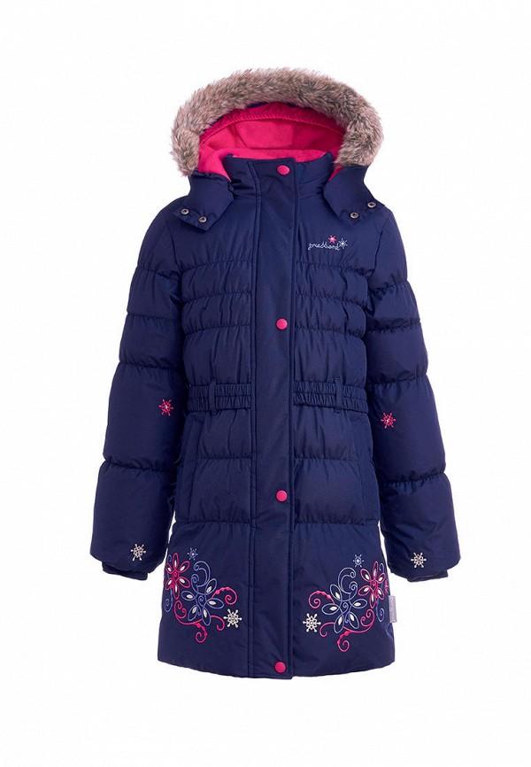 куртка premont для девочки, синяя