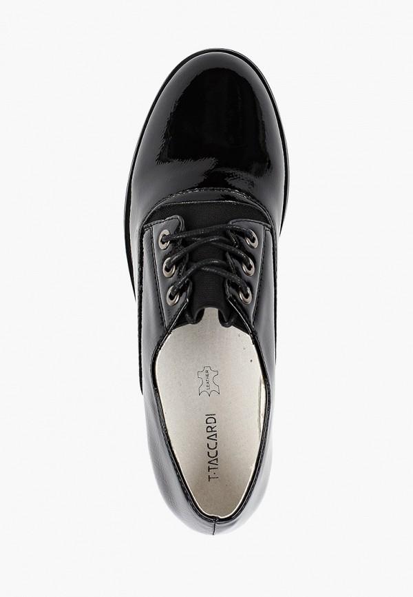 Ботинки для девочки T.Taccardi цвет черный  Фото 4