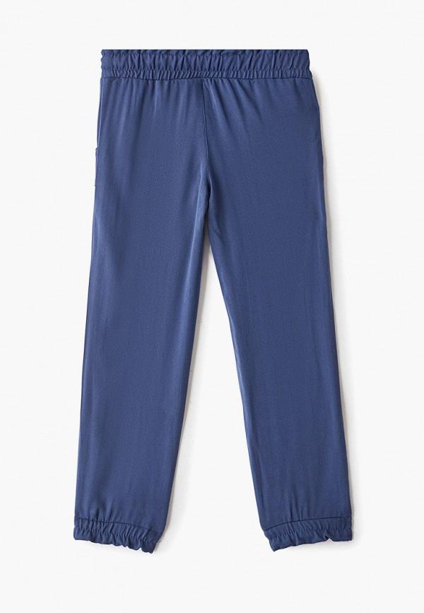 Брюки для девочки Trenders цвет синий  Фото 2