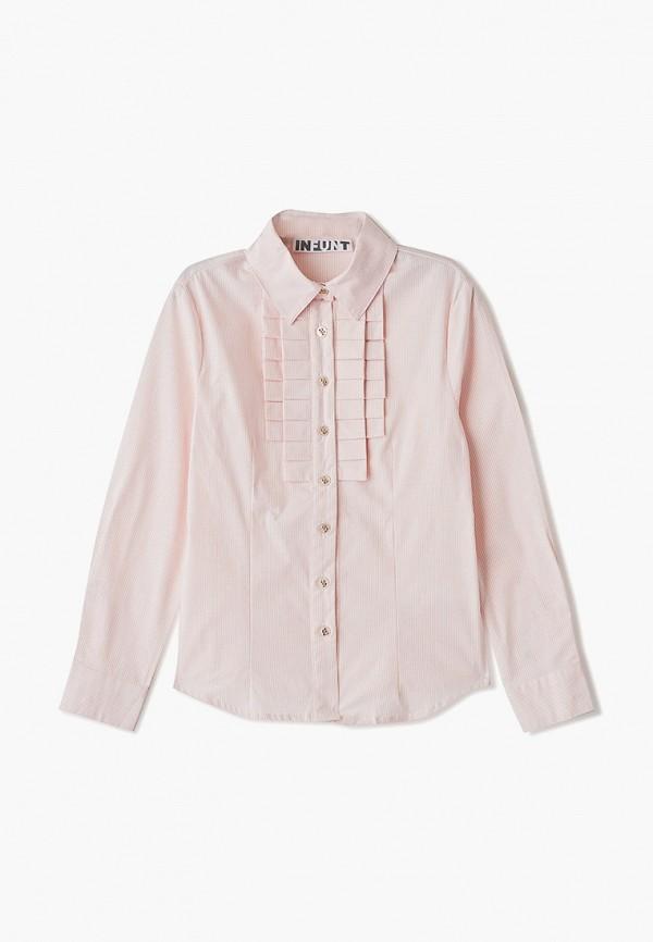 блузка infunt для девочки, розовая