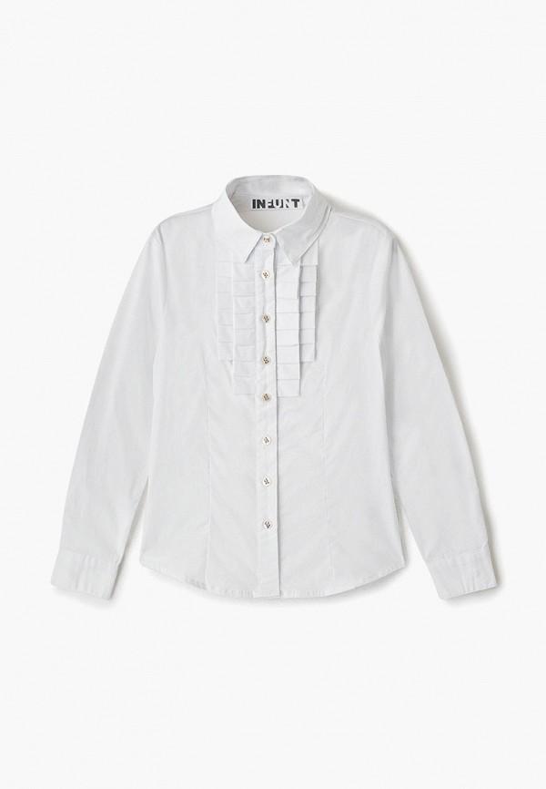 блузка infunt для девочки, белая