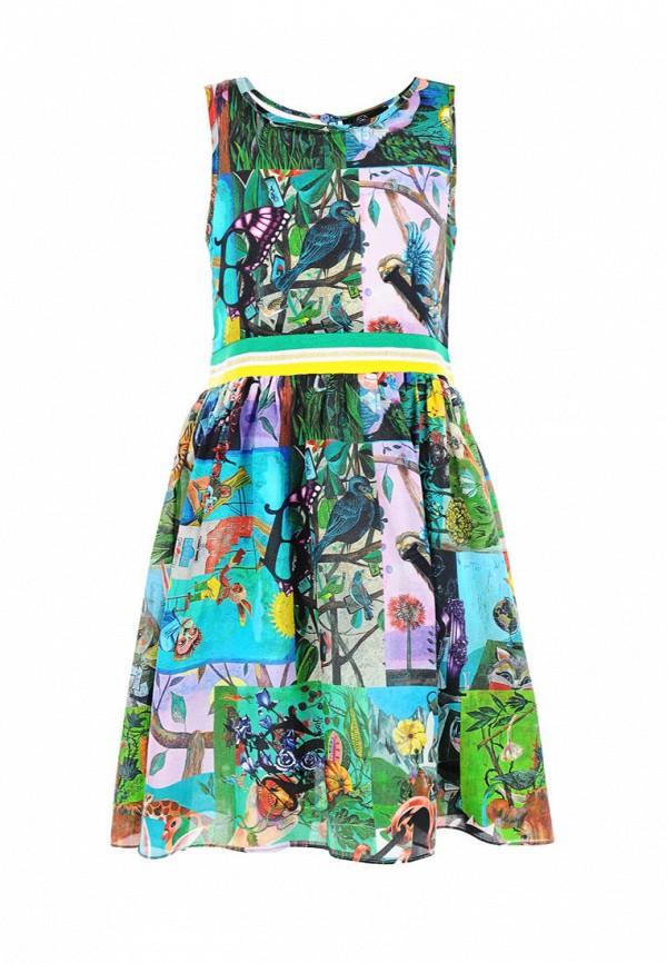 Платья для девочки DanMaralex цвет разноцветный