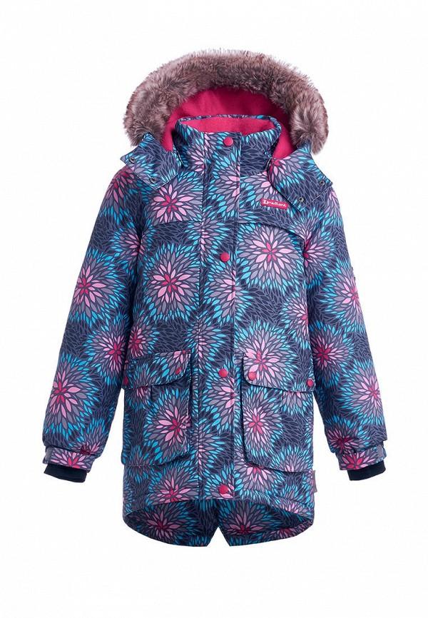 куртка premont для девочки, разноцветная