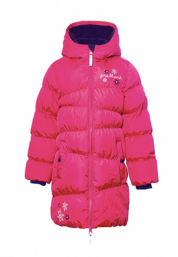 куртка premont для девочки, розовая