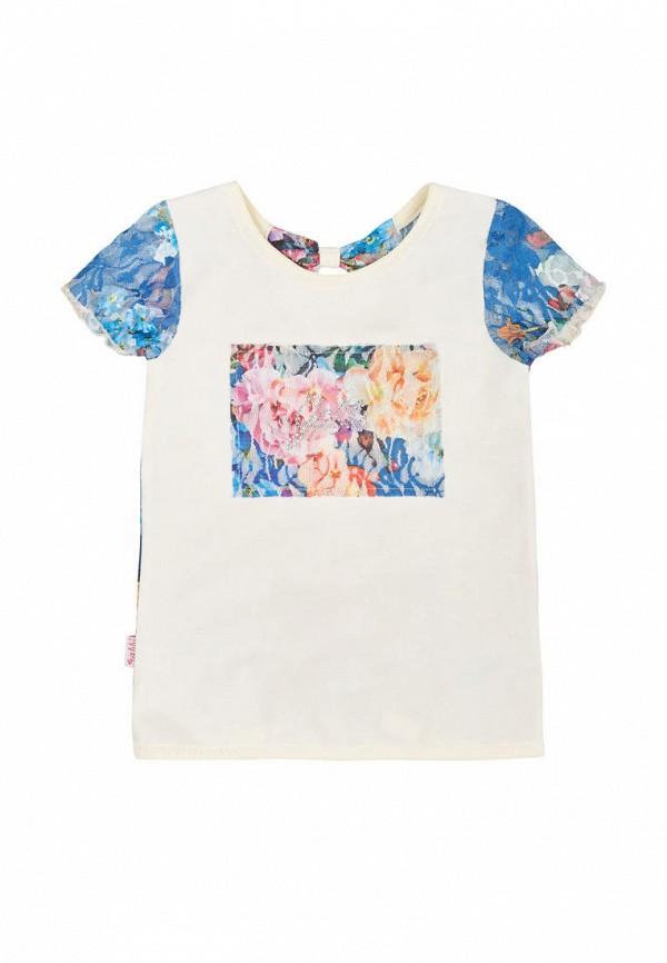 футболка с коротким рукавом габби для девочки, разноцветная