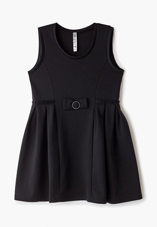 платье infunt для девочки, черное