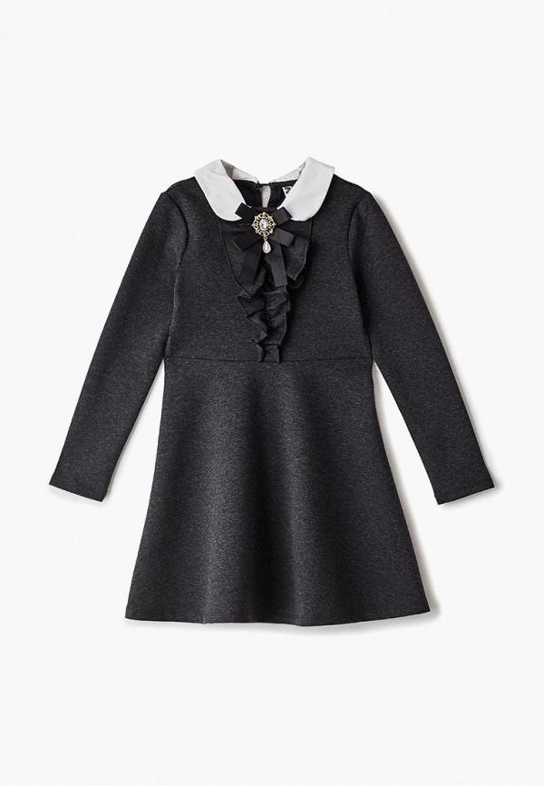 платье infunt для девочки, серое