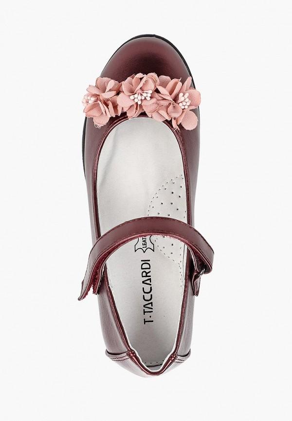 Туфли для девочки T.Taccardi цвет бордовый  Фото 4