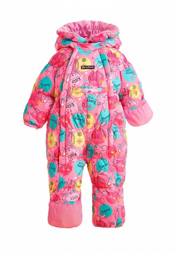 Детский комбинезон утепленный Premont цвет розовый