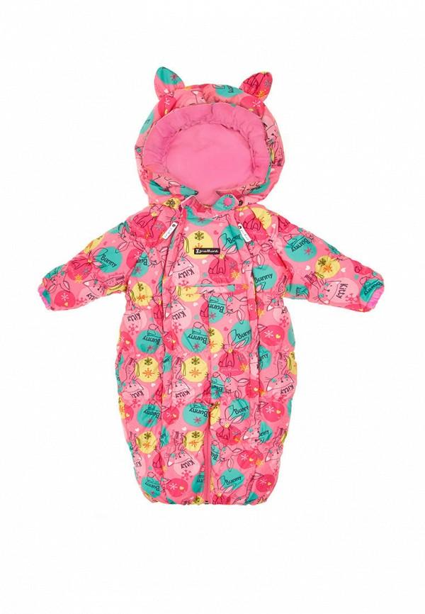 Детский комбинезон утепленный Premont цвет розовый  Фото 2