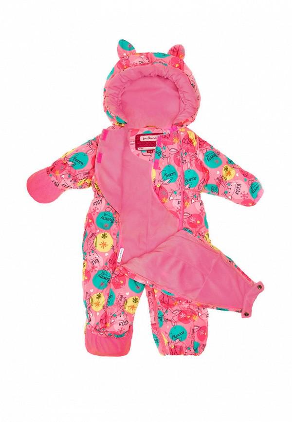Детский комбинезон утепленный Premont цвет розовый  Фото 3