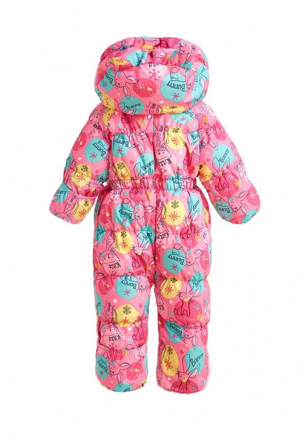 Детский комбинезон утепленный Premont цвет розовый  Фото 4