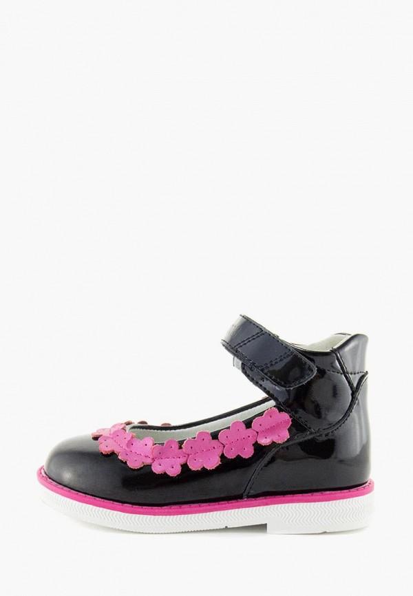 Туфли для девочки Orthoboom цвет черный