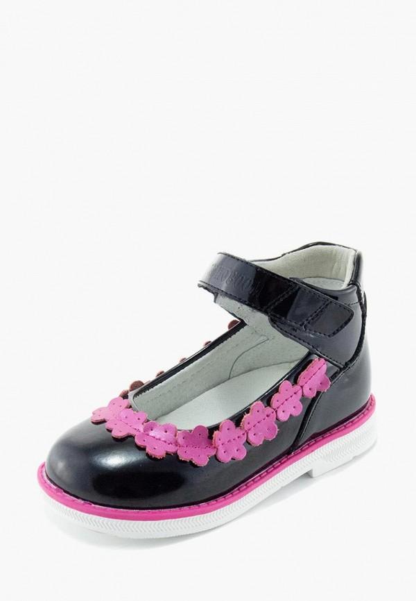 Туфли для девочки Orthoboom цвет черный  Фото 2