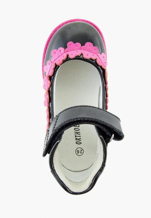 Туфли для девочки Orthoboom цвет черный  Фото 4