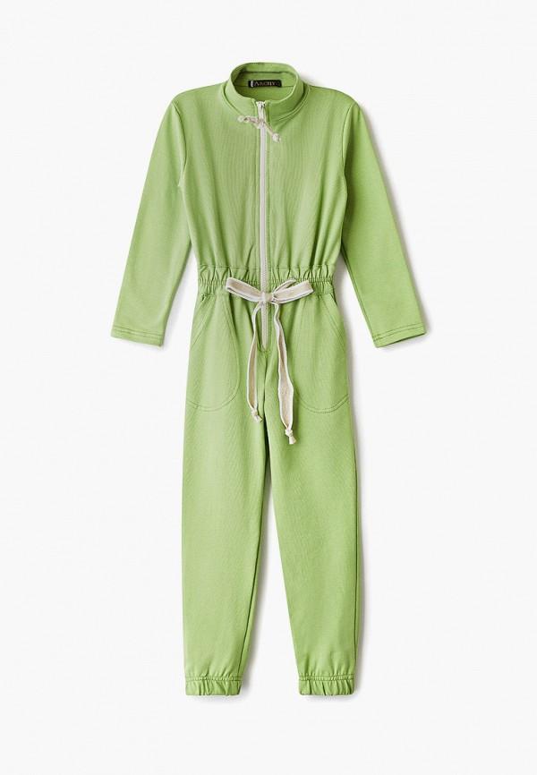 комбинезон archyland для девочки, зеленый