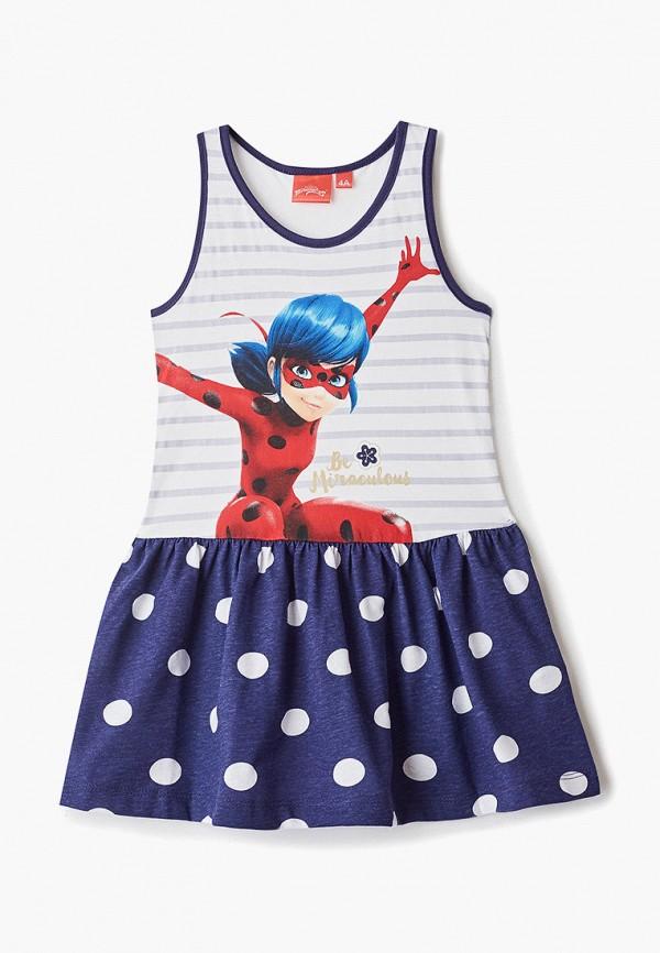 платье disney для девочки, синее