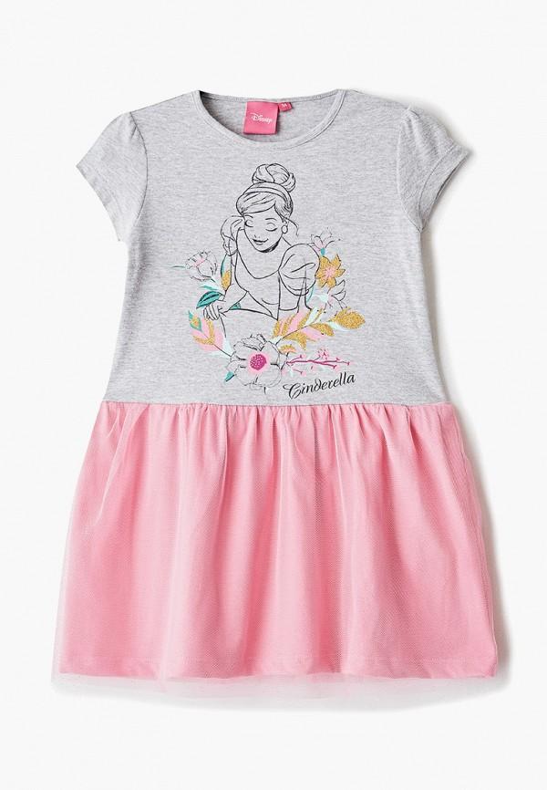 платье disney для девочки, серое