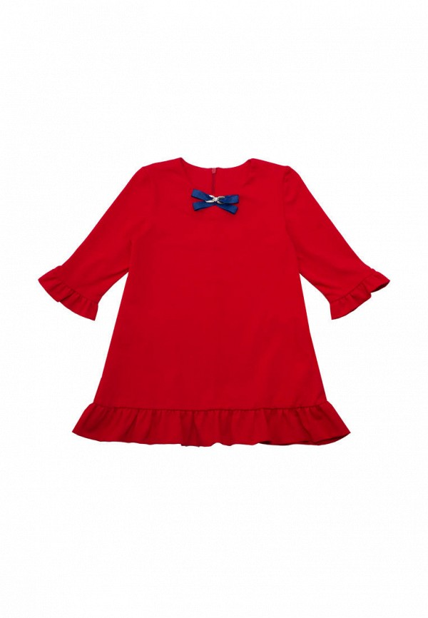 платье славита для девочки, красное