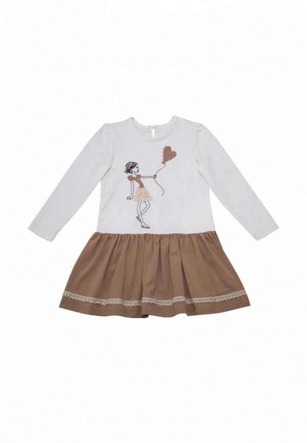 платье славита для девочки, бежевое