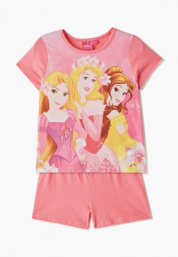 пижама disney для девочки, розовая