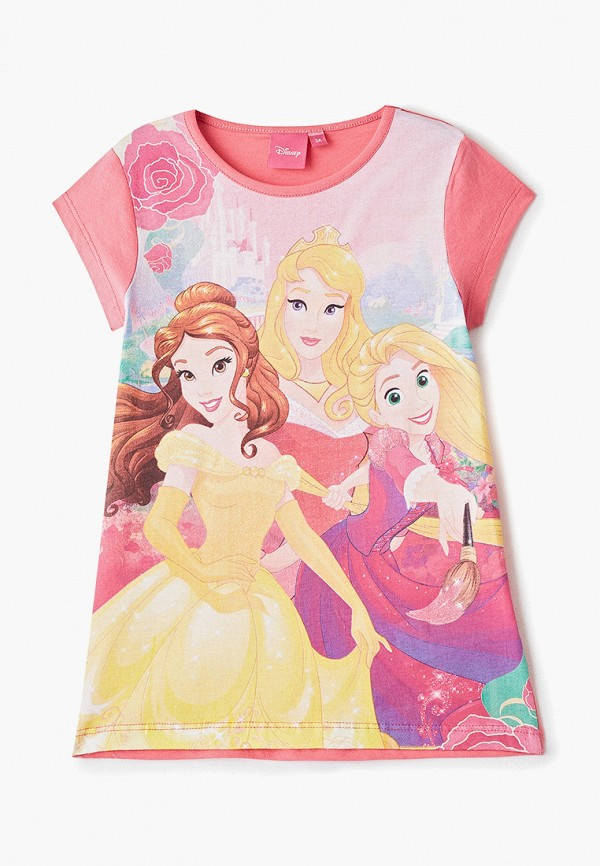 сорочка ночная disney для девочки, розовые