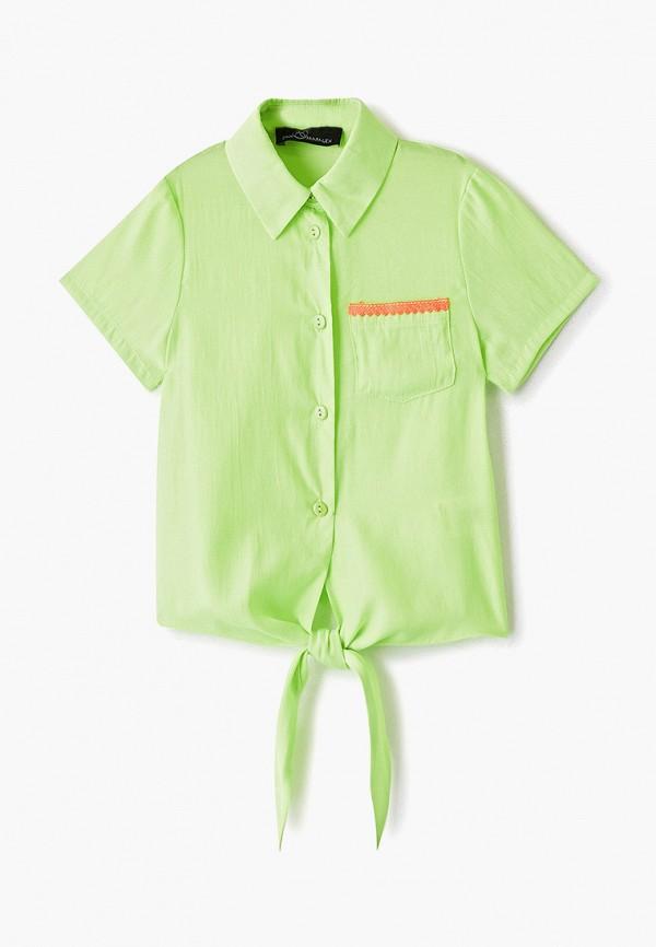 Блуза DanMaralex цвет зеленый