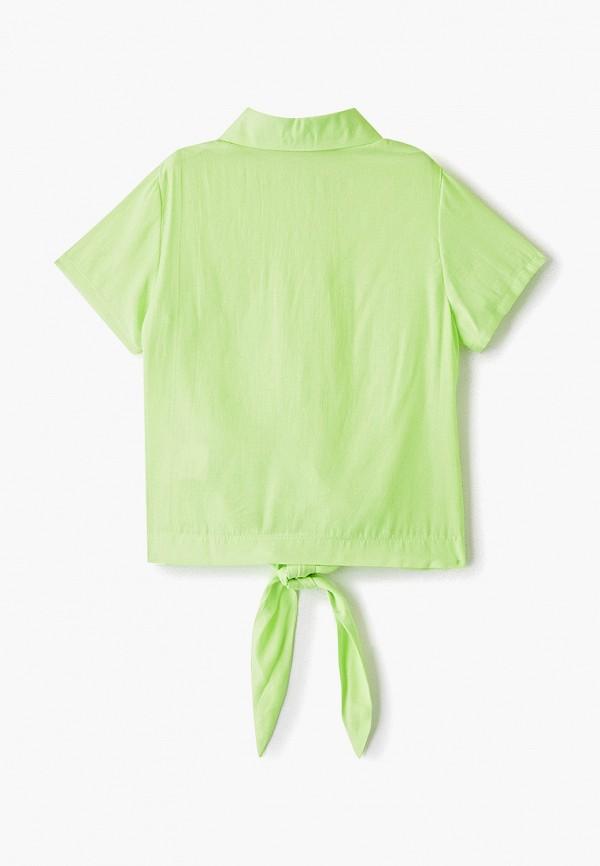 Блуза DanMaralex цвет зеленый  Фото 2
