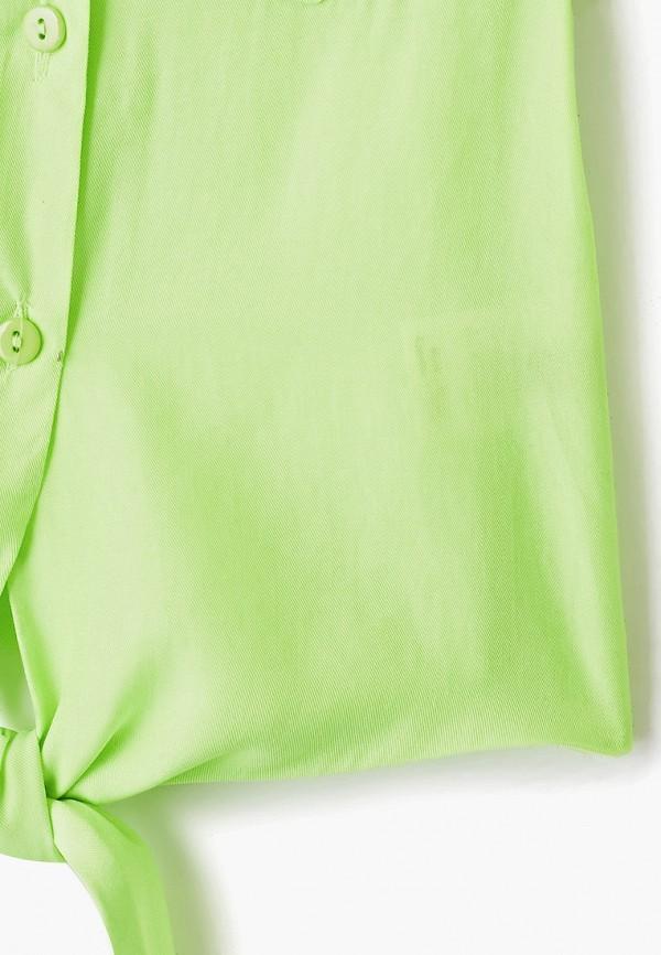 Блуза DanMaralex цвет зеленый  Фото 3