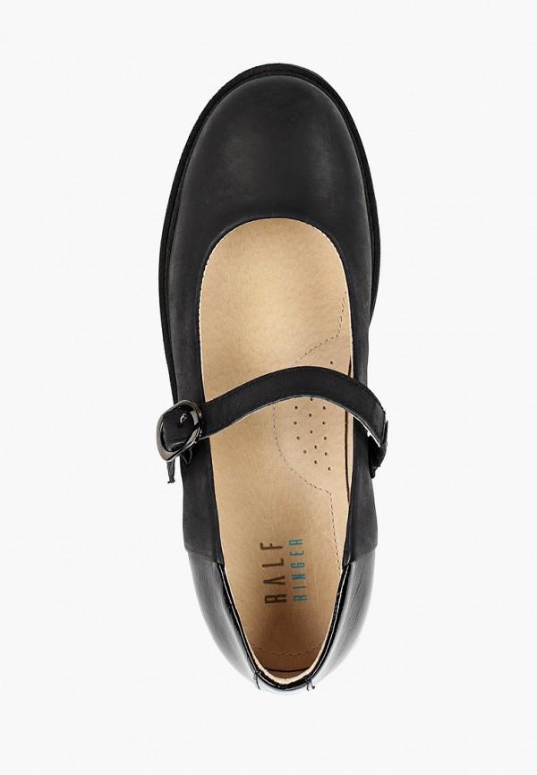 Туфли для девочки Ralf Ringer цвет черный  Фото 4