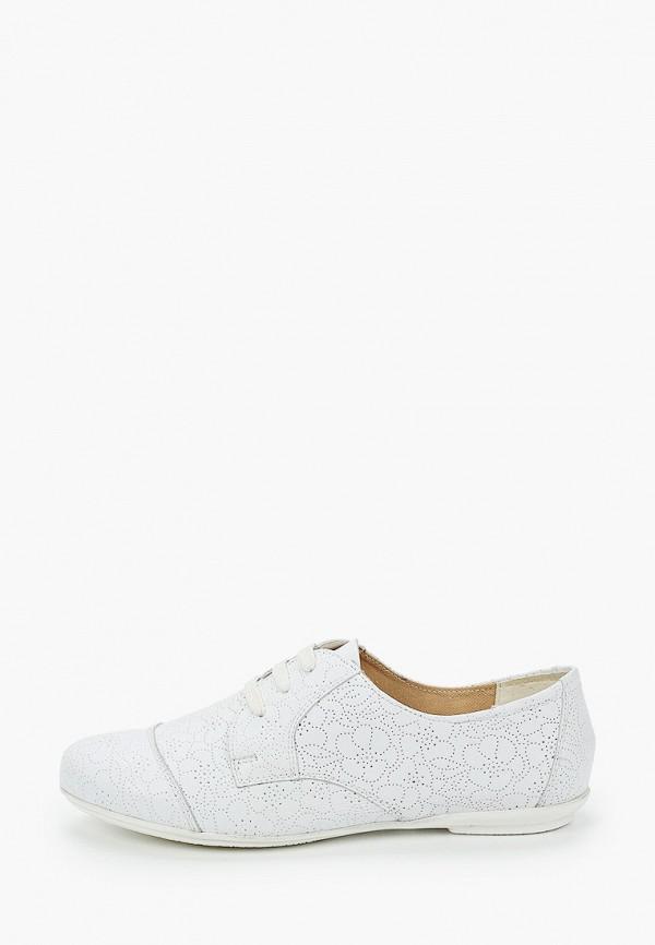 Ботинки Ralf Ringer белого цвета
