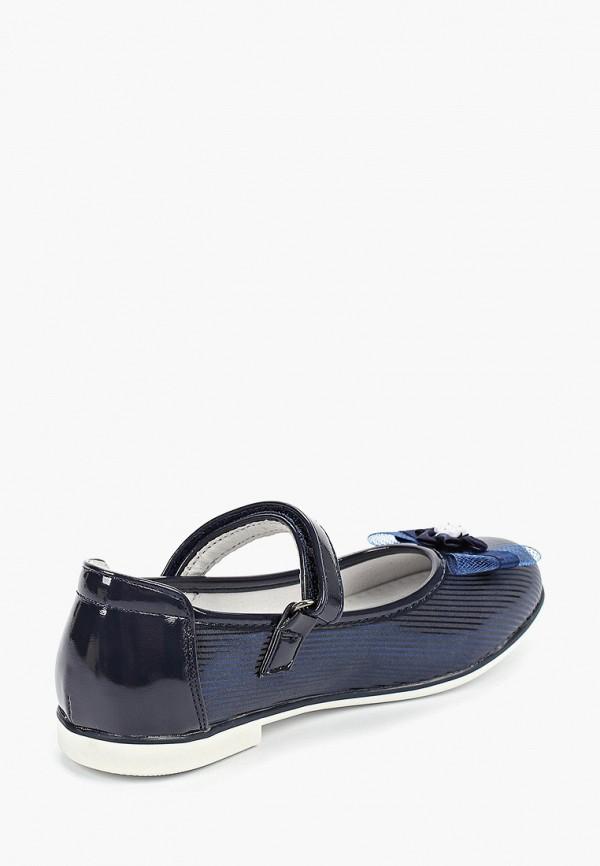 Туфли для девочки T.Taccardi цвет синий  Фото 3