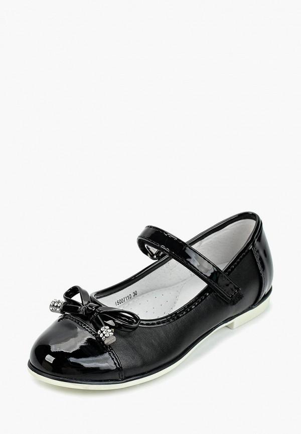 Туфли для девочки T.Taccardi цвет черный  Фото 2