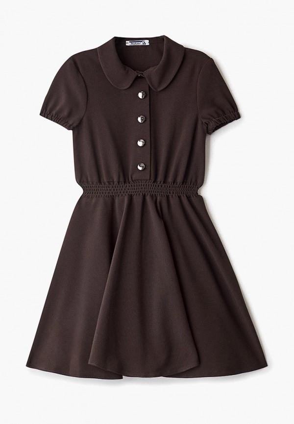 Платья для девочки Sky Lake цвет коричневый