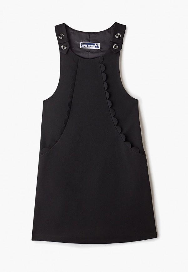 платье sky lake для девочки, черное