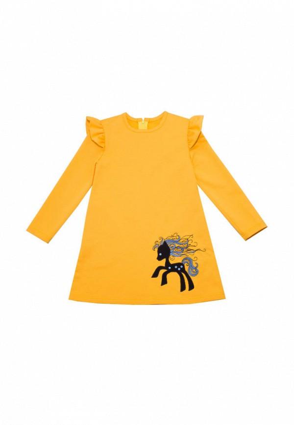 Платья для девочки Славита цвет желтый