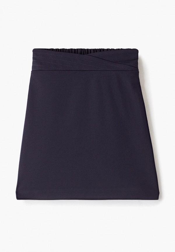 юбка смена для девочки, синяя