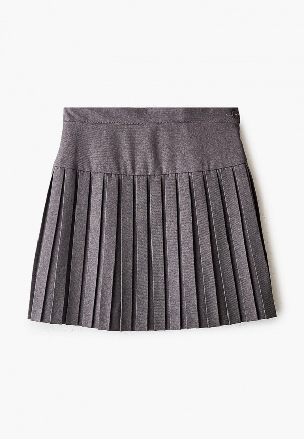 юбка смена для девочки, серая
