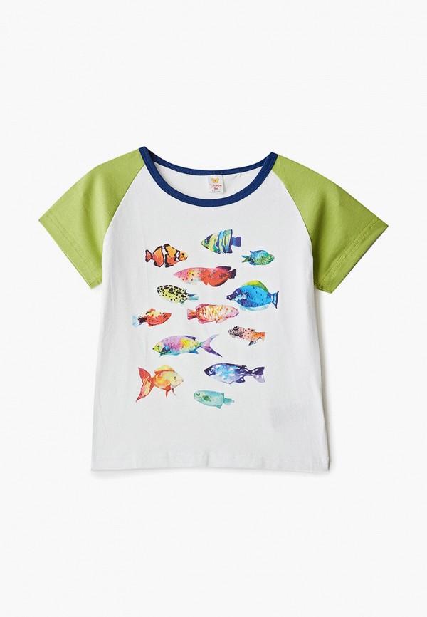 футболка наше для девочки, разноцветная