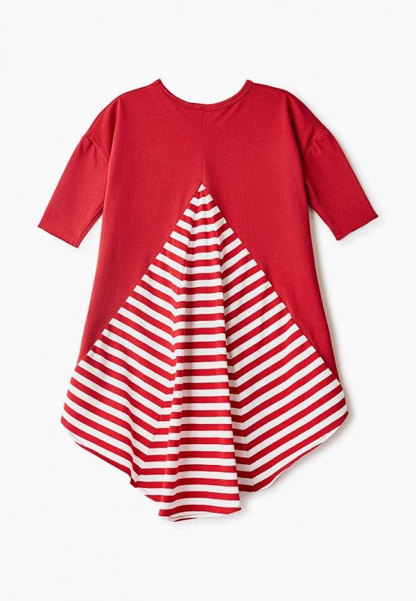 Платья для девочки Bubble's Magic цвет красный  Фото 2