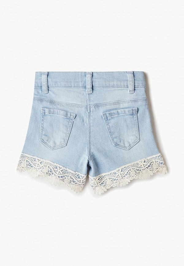 Шорты для девочки джинсовые LC Waikiki цвет голубой  Фото 2