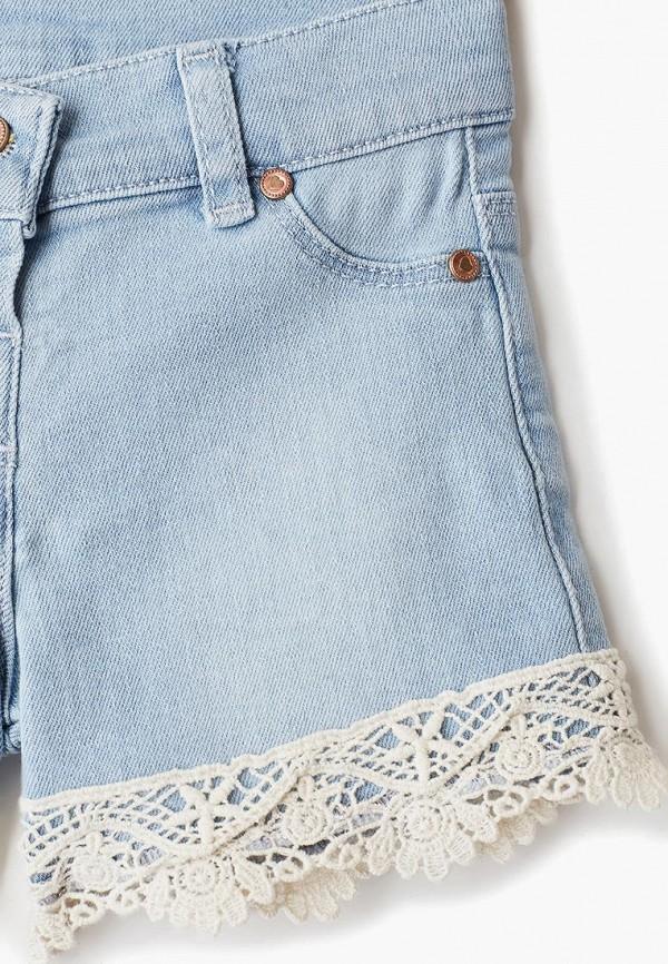 Шорты для девочки джинсовые LC Waikiki цвет голубой  Фото 3