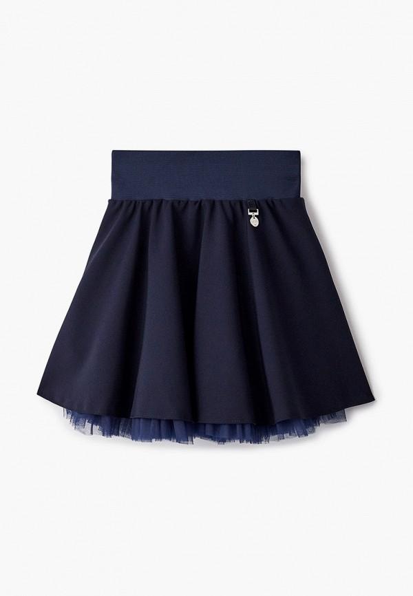 юбка olmi для девочки, синяя